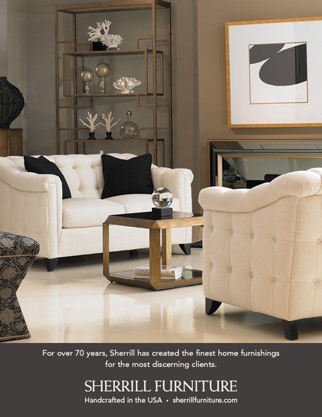 July 2014 Sherrill Furniture Traditional Home National Ad